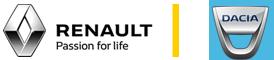 logos de renault y dacia